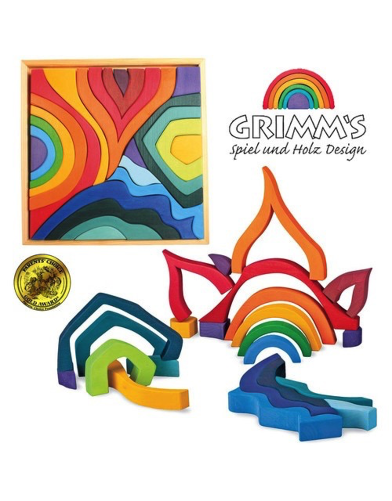 Grimm's Grimm's Building Set Four Elements Large