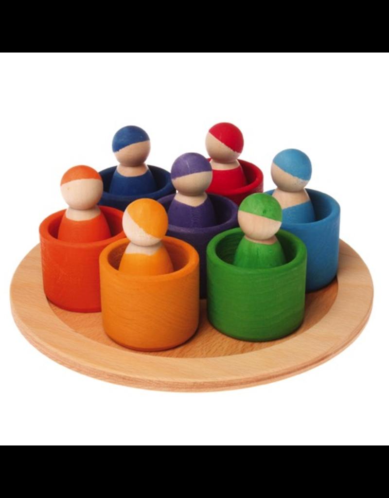 Grimm's Grimm's 7 Rainbow Friends in 7 Bowls