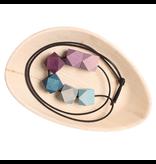 Grimm's Grimm's Necklace Blue-Purple Gems