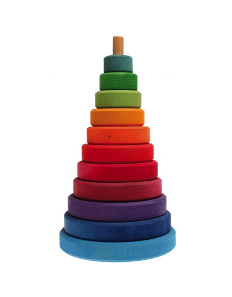 Grimm's Grimm'S Large Conical Rainbow Stacker