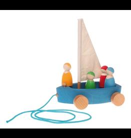 Grimm's Grimm's Land Yacht w/ 4 Sailors, Large