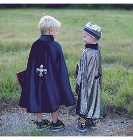 Great Pretenders Reversible King/Knight Cape, 3-7Y