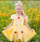 Great Pretenders Belle Tea Party Dress, Yellow, 5-6Y