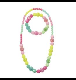 Great Pretenders Vividly Vibrant Necklace & Bracelet Set