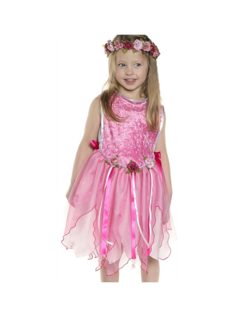 Great Pretenders Princess Forest Fairy Tunic - Pink Medium 5-6Y