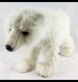 Hansa Hansa Polar Bear Cub On Four Feet