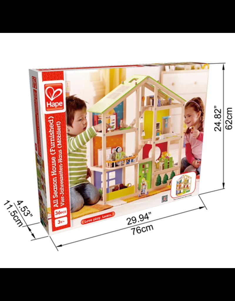 Hape Toys All Season House (Furnished)