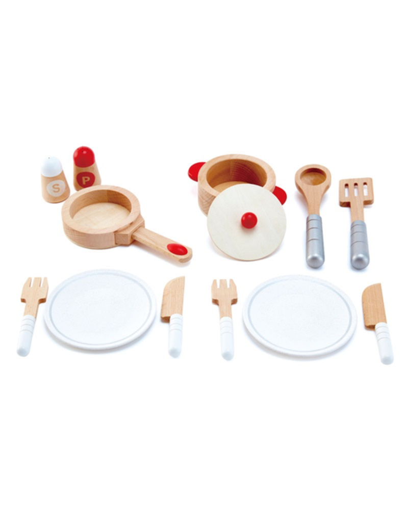Hape Toys Cook & Serve Set