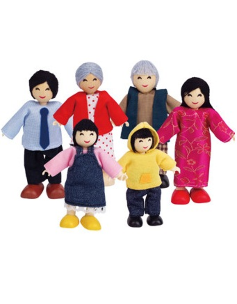 Hape Toys Happy Family - Asian