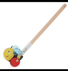 Hape Toys Bumblebee Push Along