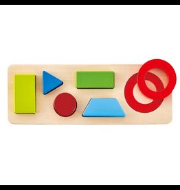 Hape Toys Geometry Puzzle