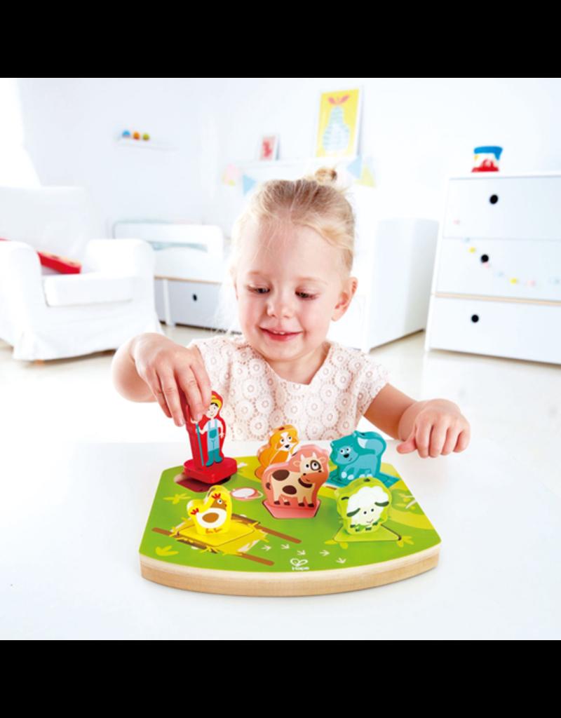 Hape Toys Farmyard Sound Puzzle
