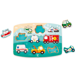 Hape Toys Emergency Peg Puzzle