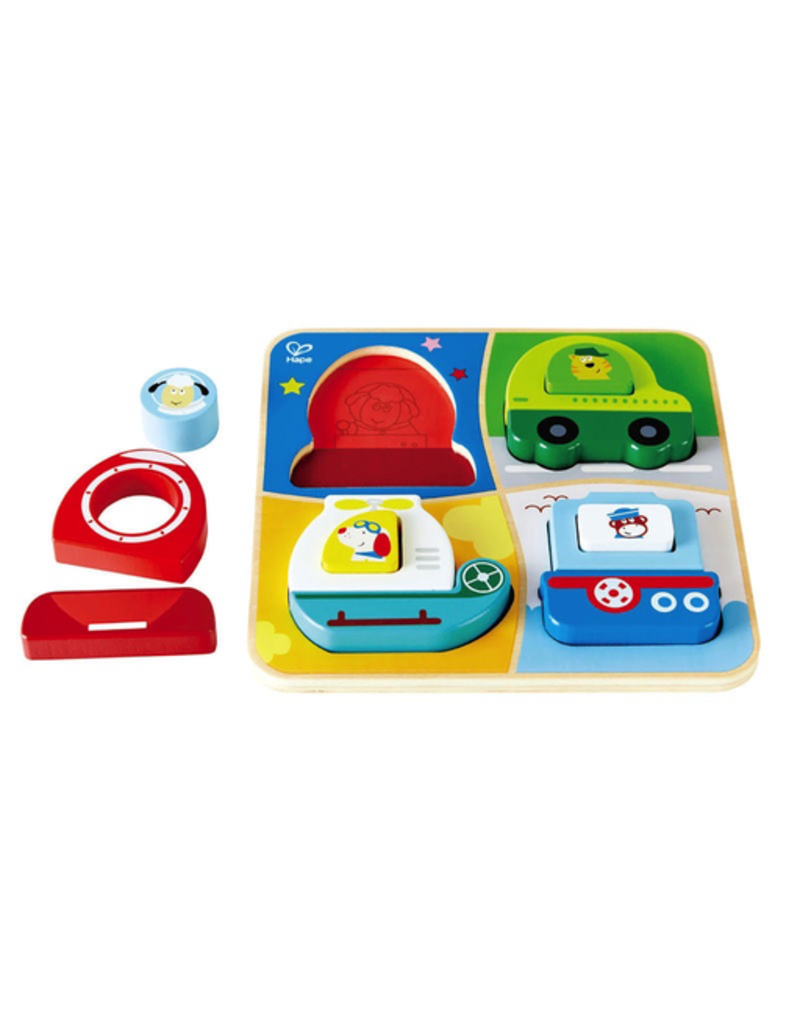Hape Toys All-Terrain Adventure Stand Up Puzzle