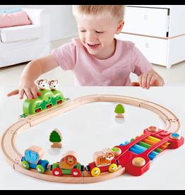 Hape Toys Music & Mnkey Railway