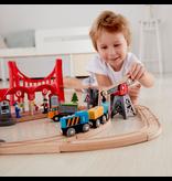 Hape Toys Busy City Rail Set