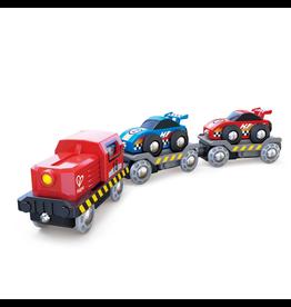 Hape Toys Race Car Transporter
