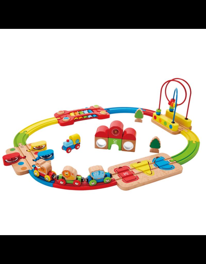 Hape Toys Rainbow Puzzle Railway