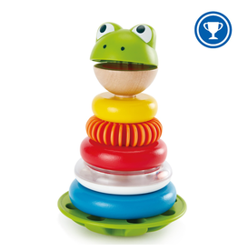 Hape Toys Mr. Frog Stacking Rings