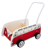 Hape Toys Classical Bus T1 Walker - Red
