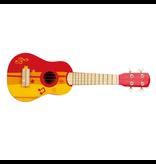 Hape Toys Rock Star Red Ukulele *New*