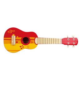 Hape Toys Rock Star Red Ukulele *New*