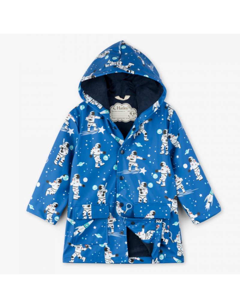 Hatley Athletic Astronauts Raincoat