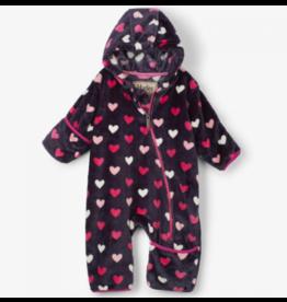 Hatley Hearts Fleece Baby Bundler