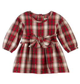 Hatley Holiday Plaid Baby Party Dress 18-24m