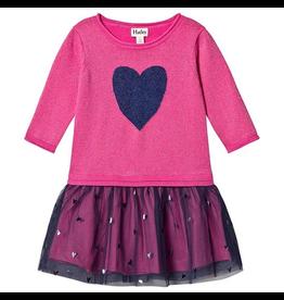 Hatley Shimmer Heart Tulle Dres