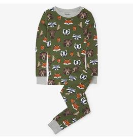 Hatley Woodland Critters Organic PJs Size 4