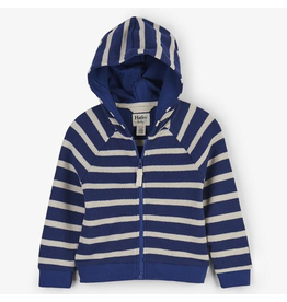 Hatley Nautical Stripes Hoodie Size 2