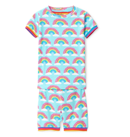 Hatley Magical Rainbows Organic Shorts PJs