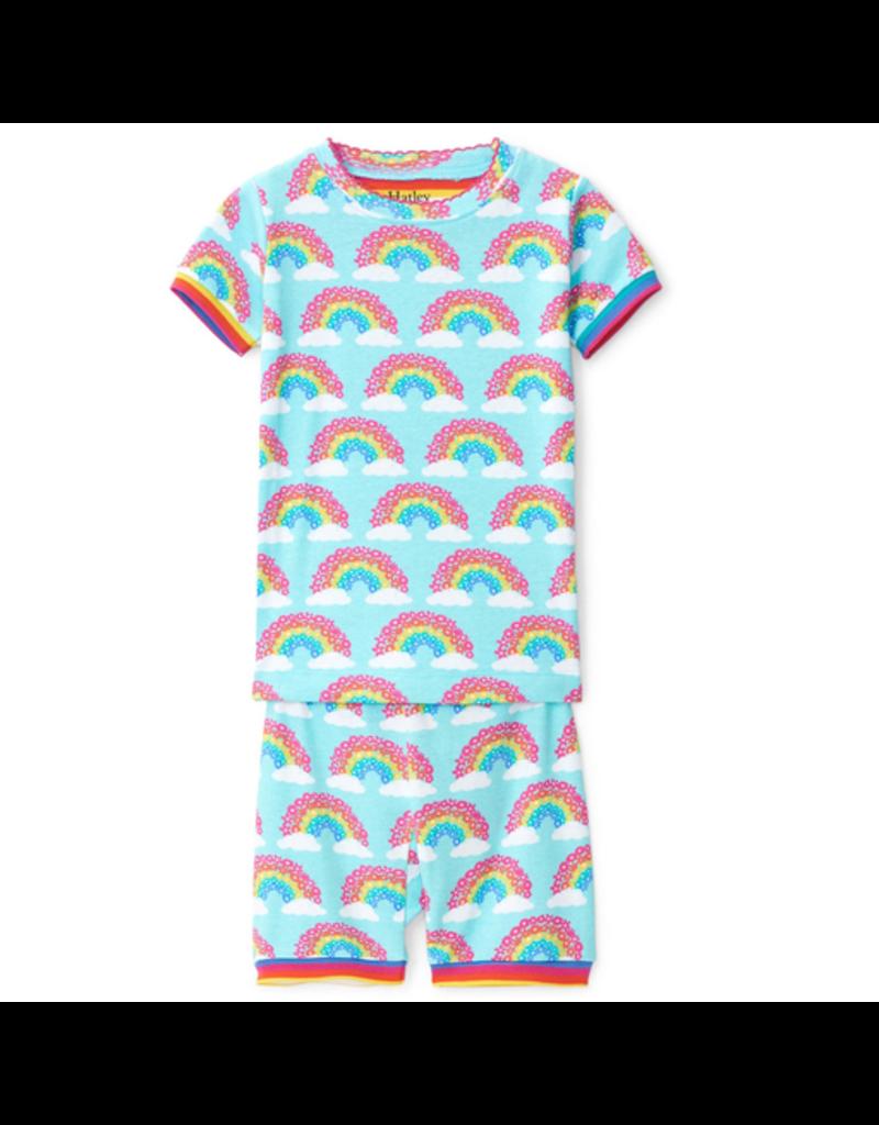 Hatley Magical Rainbows Organic Shorts PJs