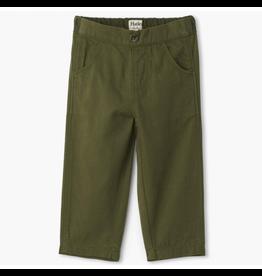 Hatley Jungle Green Baby Twill Pants 6-9m