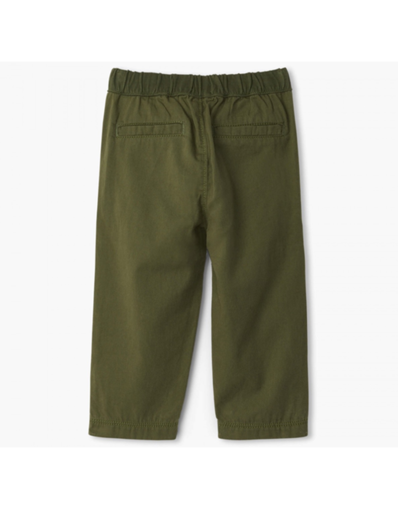 Hatley Jungle Green Twill Pants