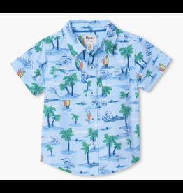 Hatley Hawaiian Tropics Organic Baby Shirt