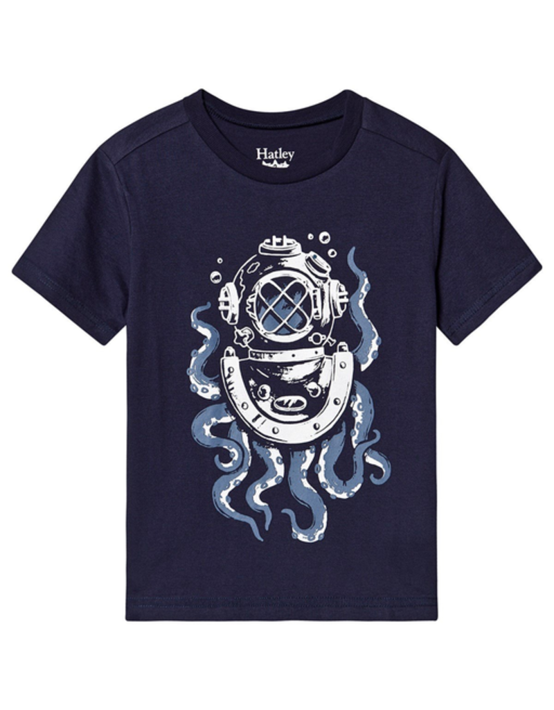 Hatley Octopus Diver Graphic Tee