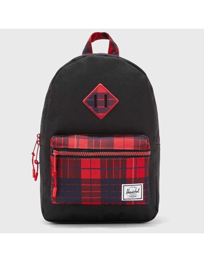 Herschel Heritage Kids Black/Winter Plaid
