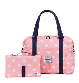 Herschel Sprout Diaper Bag Peach Polka Dot