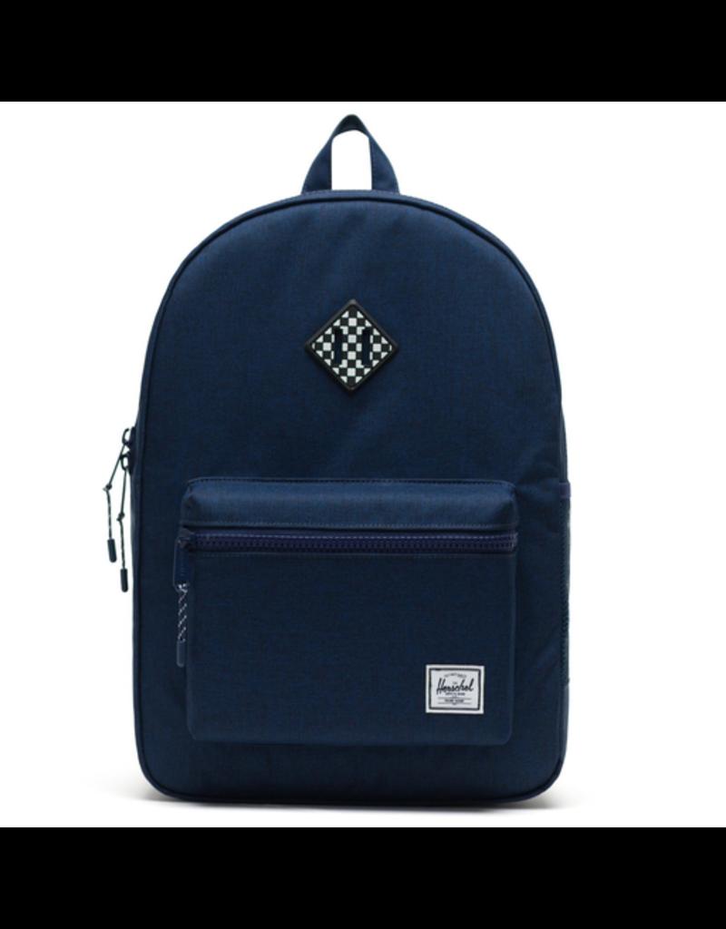 Herschel Heritage Youth XL Blue/Checkerboard