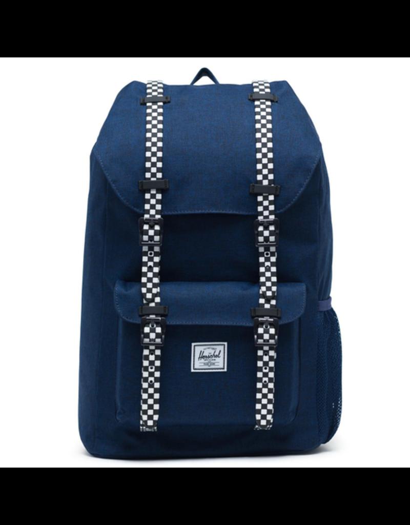 Herschel Little America Poly Blue/Checkerboard