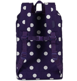 Herschel Retreat Backpack - Purple Polkadot