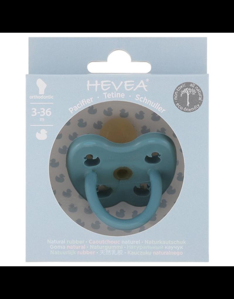 Hevea 3m+ Rubber Orthodontic Pacifier - Twilight Blue