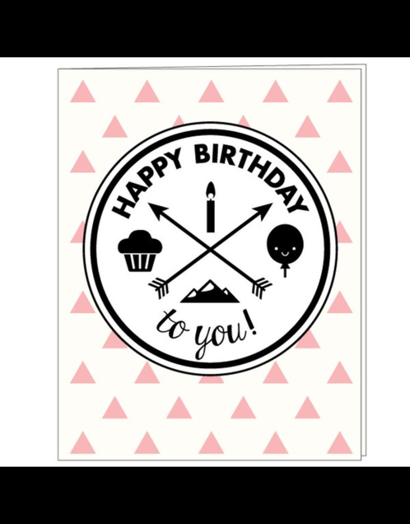 Hip Baby Cards - Birthday