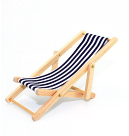 Dollhouse Sun Lounge Chair 1:12 (Fits Maileg Mice)