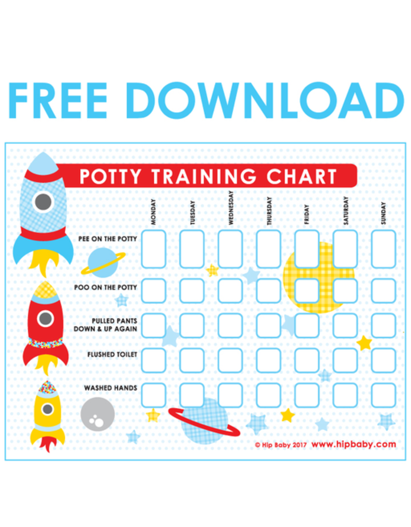 Potty Training Chart Free Download