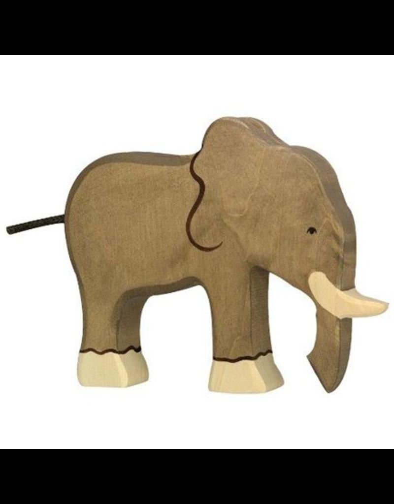 Holztiger Holztiger Elephant, trunk down