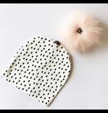 Baby Fur Pom Pom Hat, 3-24m