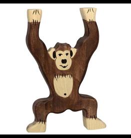Holztiger Holztiger Chimpanzee, standing